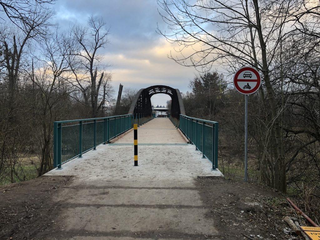 Dokončený most