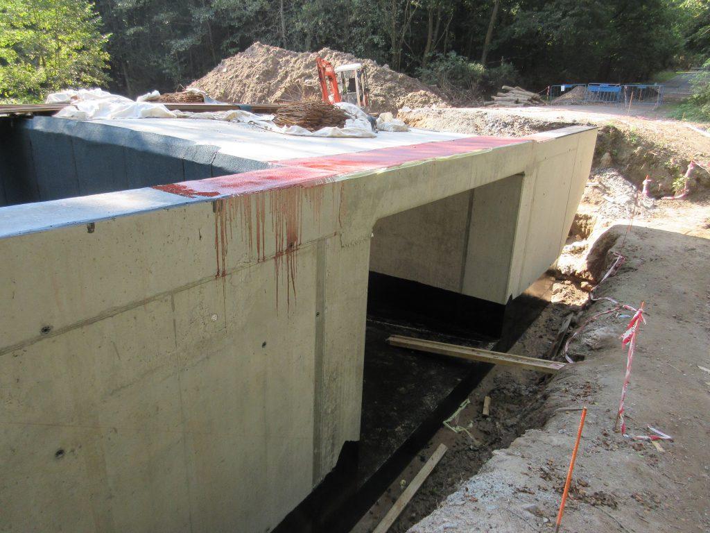 Betonáž konstrukce